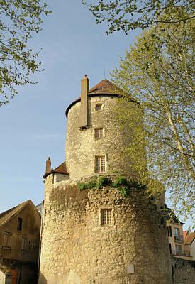 France, Burgundy, Nievre, Nevers Poster