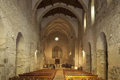 France. Codalet. Monastery Of St Poster by Everett