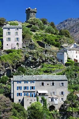 France, Corsica, Le Cap Corse, Nonza Poster by Walter Bibikow
