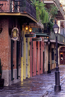 French Quarter, New Orleans, Louisiana Poster by Charles O. Cecil