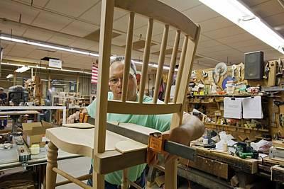 Furniture Crafts Manufacturing Poster
