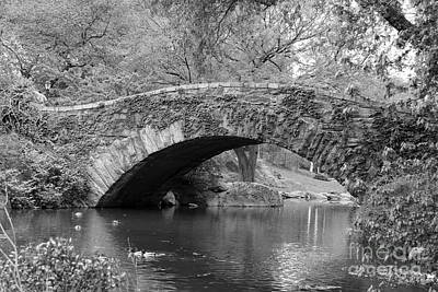 Gapstow Bridge  Nyc Poster by Christiane Schulze Art And Photography