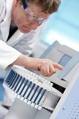 Gas Chromatography Analysis Poster