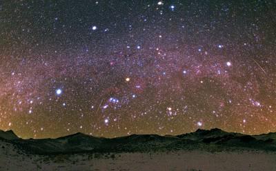 Geminid Meteor Shower Poster