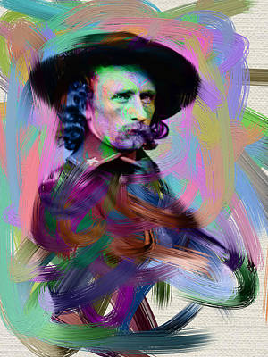 George Armstrong Custer Poster by Unknown