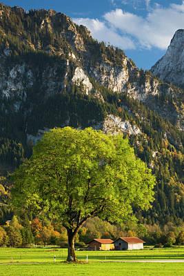 Germany, Bavaria, Hohenschwangau Poster by Walter Bibikow