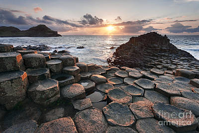 Giant's Causeway 2 Poster by Rod McLean