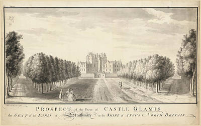 Glamis Castle Poster by British Library