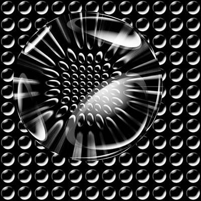 Glass Ball Poster by Evgeniy Lankin