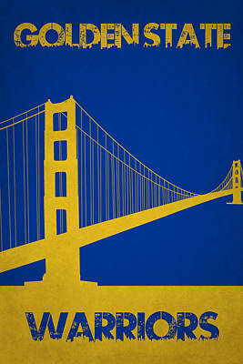 Golden State Warriors Poster by Joe Hamilton