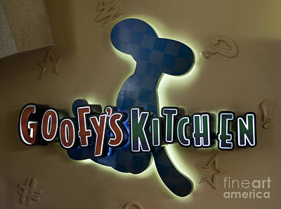 Goofy's Kitchen Poster by M Valeriano