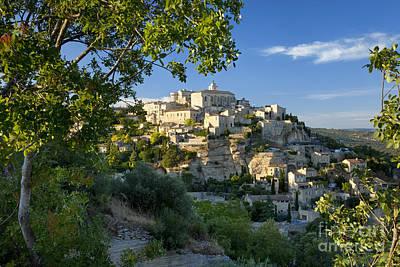 Gordes Provence Poster by Brian Jannsen