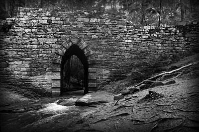 Gothic Bridge Poster by Kelly Hazel