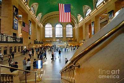 Grand Central Station New York City Poster by Amy Cicconi