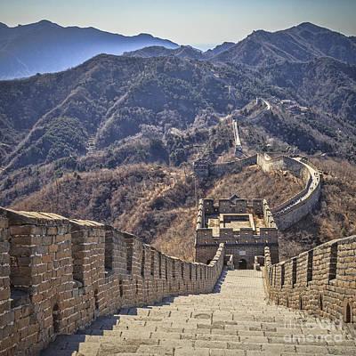 Great Wall Of China Mutianyu Poster