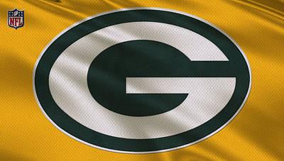 Green Bay Packers Uniform Poster by Joe Hamilton