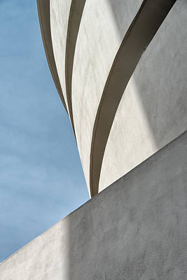 Poster featuring the photograph Guggenheim Museum by James Howe