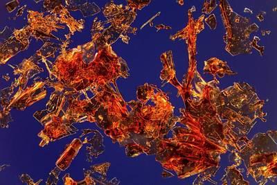 Haemoglobin Crystals Poster by Antonio Romero