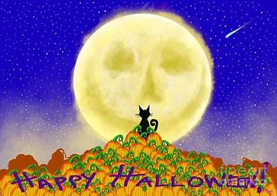 Happy Halloween Poster by Nick Gustafson