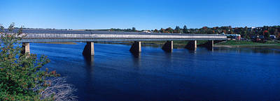 Hartland Bridge, Worlds Longest Covered Poster by Panoramic Images