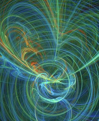 Higgs Field Artwork Poster by David Parker
