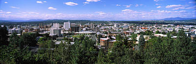 High Angle View Of A City, Spokane Poster by Panoramic Images