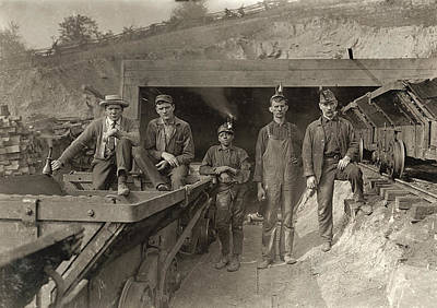 Hine Coal Miners, 1908 Poster by Granger
