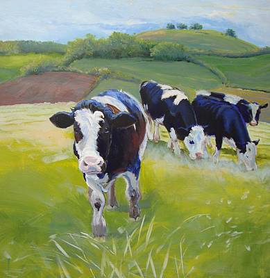 Holstein Friesian Cows Poster