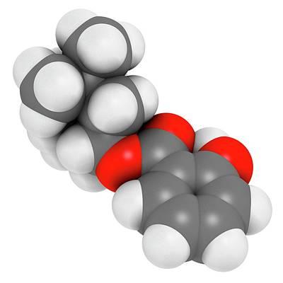 Homosalate Sunscreen Molecule Poster by Molekuul