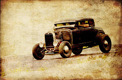 Hot Rod Ford Poster by Steve McKinzie