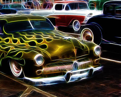 Hot Rods Poster by Steve McKinzie