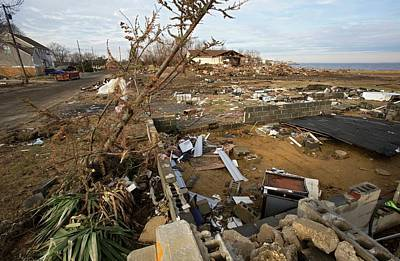 Hurricane Sandy Damage Poster