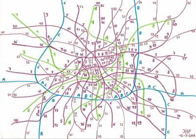 Imaginary Transport Map Poster
