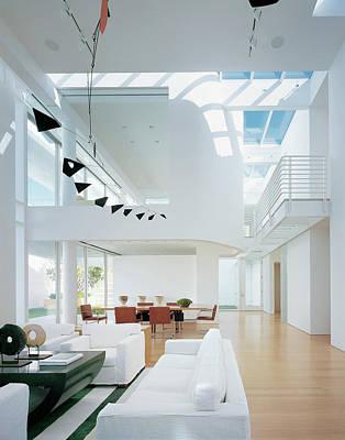 Interior Of Modern Living Room Poster