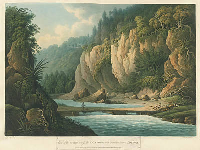 Island Of Jamaica Poster by British Library