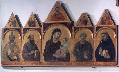 Italy, Tuscany, Siena, National Art Poster by Everett