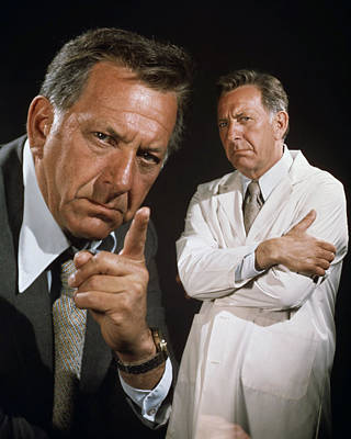 Jack Klugman In Quincy M.e.  Poster by Silver Screen