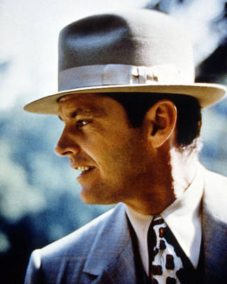 Jack Nicholson In Chinatown  Poster by Silver Screen