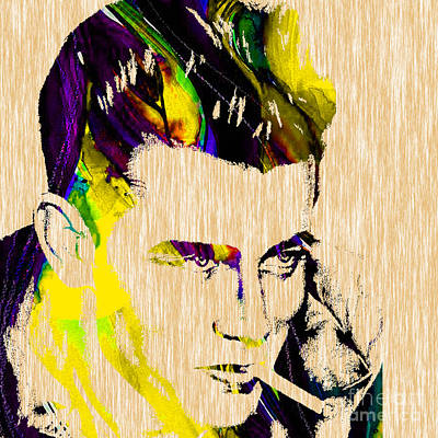 James Dean Collection Poster by Marvin Blaine