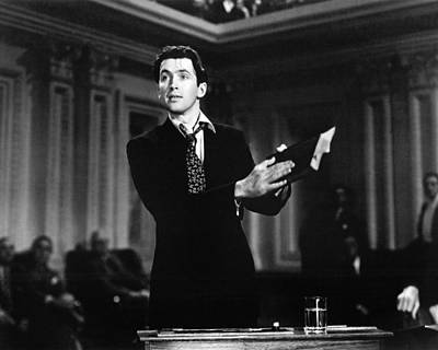 James Stewart In Mr. Smith Goes To Washington  Poster