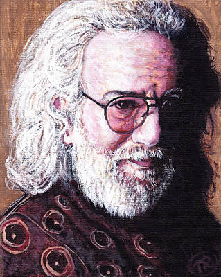 Jerry Garcia Poster by Tom Roderick