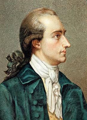 Johann Von Goethe Poster