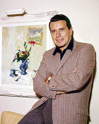 John Forsythe Poster by Silver Screen