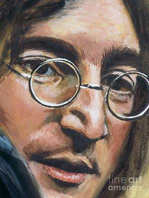 John Lennon Poster by Kean Butterfield