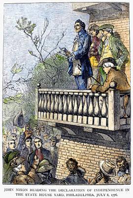 John Nixon, 1776 Poster by Granger