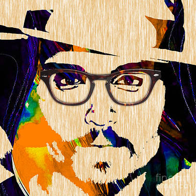 Johnny Depp Collection Poster by Marvin Blaine