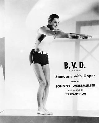 Johnny Weissmuller Poster