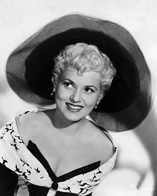 Judy Holliday In Born Yesterday  Poster by Silver Screen