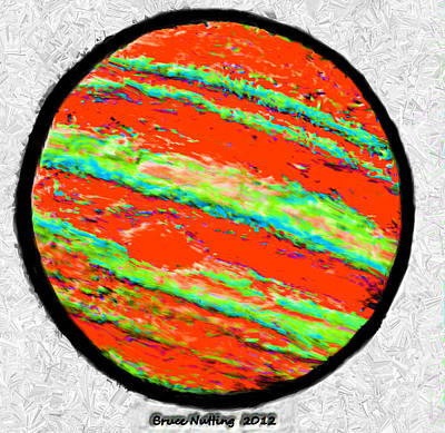 Jupiter In Many Colors Poster