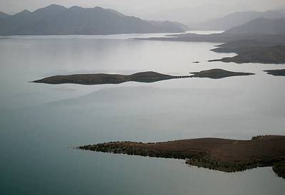 Kajaki Lake In Helmand Province Afghanistan Poster